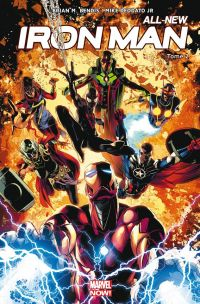 All-New Iron Man T2 : Les War Machine (0), comics chez Panini Comics de Bendis, Deodato Jr, Martin jr