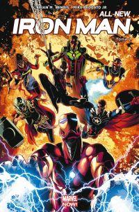 All-New Iron Man T2 : Les War Machine (0), comics chez Panini Comics de Bendis, Deodato Jr, Martin jr