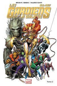 All-New Les Gardiens de la Galaxie T2 : Le nouvel ordre galactique (0), comics chez Panini Comics de Bendis, Schiti, Isanove, Adams