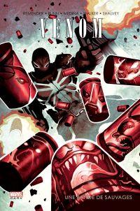 Venom T4 : Une bande de sauvages (0), comics chez Panini Comics de Remender, Bunn, Atkins, Walker, Silas, Shalvey, Medina, Mossa, Sotomayor, Loughridge, Del Mundo