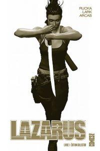 Lazarus T1 : Pour la famille - édition collector (0), comics chez Glénat de Rucka, Lark, Arcas
