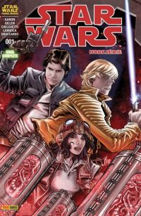 Star Wars (revue Marvel) V2 T1 : Hors série - La citadelle hurlante (0), comics chez Panini Comics de Gillen, Aaron, Larroca, Checchetto, Broccardo, Mossa, Fabela, Delgado