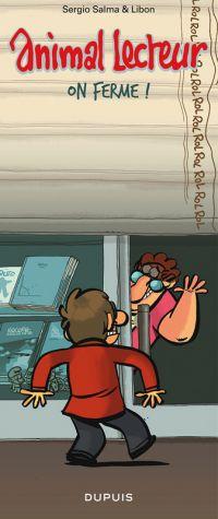 Animal lecteur T7 : On ferme ! (0), bd chez Dupuis de Salma, Libon
