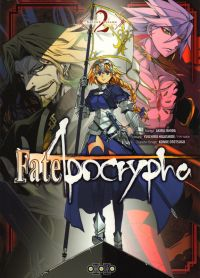 Fate/apocrypha  T2, manga chez Ototo de Higashide, Ishida