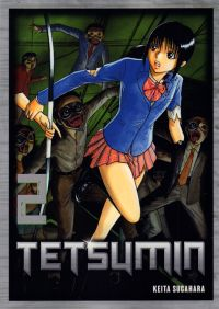 Tetsumin T2, manga chez Komikku éditions de Sugahara