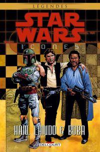 Star Wars - Icones T5 : Han, Lando & Boba (0), comics chez Delcourt de Edginton, Kennedy, Meglia, Madsen, Stewart, Robinson