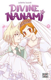 Divine Nanami T25, manga chez Delcourt Tonkam de Suzuki