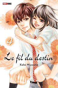 Le fil du destin T4, manga chez Panini Comics de Miyasaka