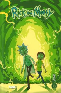 Rick and Morty T1, comics chez Hi Comics de Gorman, Cannon, Hill