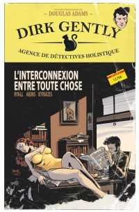 Dirk Gently T1 : L'interconnexion entre toute chose (0), comics chez Ed. Flamival de Ryall, Akins, Kyriazis, O'Grady, Downer