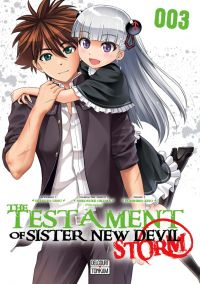 The testament of sister new devil - Storm T3, manga chez Delcourt de Tetsuto, Nitroplus