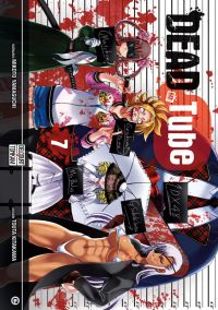 Dead tube T7, manga chez Delcourt Tonkam de Yamaguchi, Kitakawa