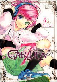 7th garden T4, manga chez Delcourt Tonkam de Izumi