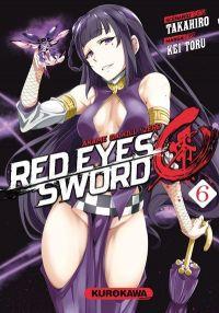Red eyes sword - akame ga kill ! Zero  T6, manga chez Kurokawa de Takahiro