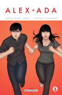 Alex + Ada T3, comics chez Delcourt de Vaughn, Luna