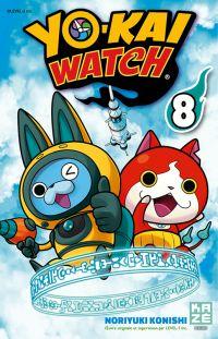 Yo-kai watch  T8, manga chez Kazé manga de Konishi, Level-5