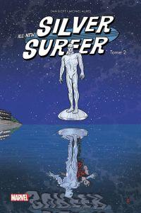 All-New Silver Surfer T2 : Plus puissant que le pouvoir cosmique (0), comics chez Panini Comics de Slott, Allred, Allred
