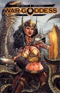 War Goddess T1, comics chez Graph Zeppelin de Wolfer, Rodrix, Digikore studio, Martin
