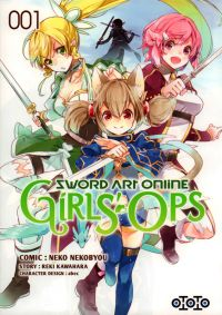 Sword art online - Girls' ops T1, manga chez Ototo de Kawahara, Abec, Nekobyou