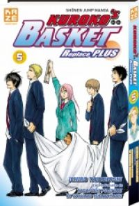 Kuroko's basket Replace PLUS T5, manga chez Kazé manga de Hirabayashi,  Fujimaki, Takahashi