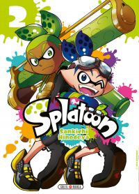Splatoon T2, manga chez Soleil de Hinodeya