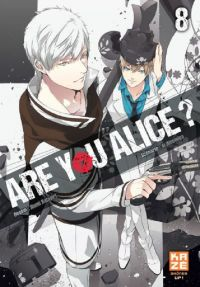 Are you Alice ? T8, manga chez Kazé manga de Ninomiya, Katagiri