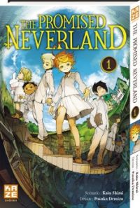The promised neverland T1, manga chez Kazé manga de Shirai, Demizu