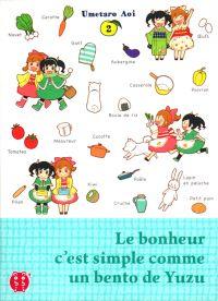 Le bonheur c'est simple comme un bento de Yuzu T2, manga chez Nobi Nobi! de Umetaro