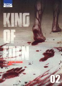 King of eden T2, manga chez Ki-oon de Nagasaki, Ignito