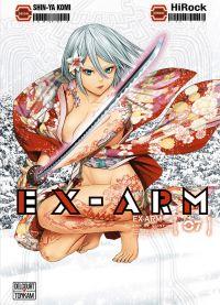 Ex-Arm T7, manga chez Delcourt Tonkam de Hirock, Komi
