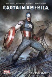 Captain America - La légende vivante, comics chez Panini Comics de Granov, Robson, Diggle, Favreau, Alessio