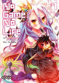 No game no life T1, manga chez Ototo de Kamiya, Hiiragi