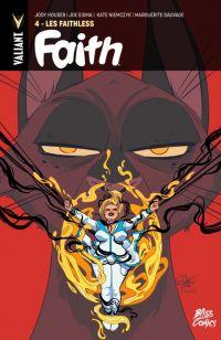 Faith T4 : Les Faithless (0), comics chez Bliss Comics de Houser, Eisma, Sauvage, Niemczyk, Dalhouse, Charretier
