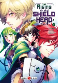 The rising of the shield hero T9, manga chez Bamboo de Aneko, Kyu