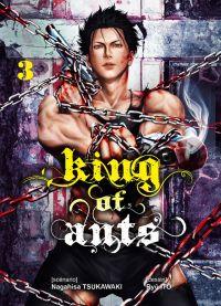King of ants T3, manga chez Komikku éditions de Tsukawaki, Itô