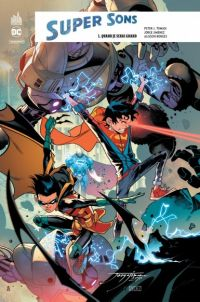 Super Sons T1 : Quand je serai grand (0), comics chez Urban Comics de Tomasi, Jimenez, Borges, Hi-fi colour, Sanchez