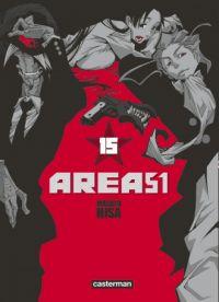 Area 51 T15, manga chez Casterman de Hisa