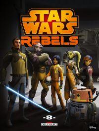 Star Wars Rebels T8, comics chez Delcourt de Fischer, Molesworth, Romling, Coleman