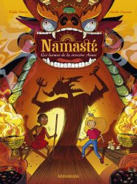 Namaste T3 : Les larmes de la sorcière Asuri (0), bd chez Sarbacane de Simon, Guarino