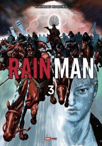 Rain man T3, manga chez Panini Comics de Hoshino