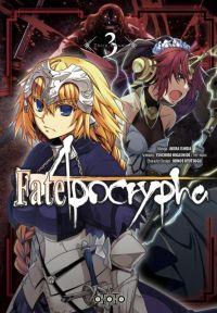 Fate/apocrypha  T3, manga chez Ototo de Higashide, Ishida