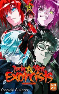 Twin star exorcists T13, manga chez Kazé manga de Sukeno