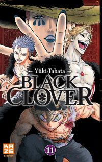 Black clover T11, manga chez Kazé manga de Tabata