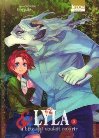 Lyla & la bête qui voulait mourir T2, manga chez Ki-oon de Konami, Saita