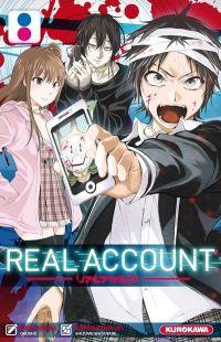 Real account T8, manga chez Kurokawa de Okushou, Shizumukun