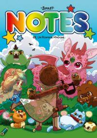Notes T11 : Un royaume magique (0), bd chez Delcourt de Boulet