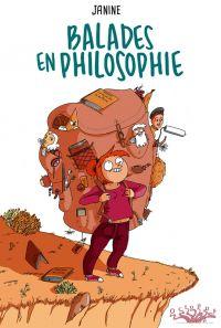 Balades en Philosophie, bd chez Delcourt de Janine