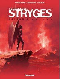 Le chant des stryges T18 : Mythes (0), bd chez Delcourt de Corbeyran, Guerineau, Fogolin