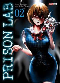 Prison lab T2, manga chez Panini Comics de Kantetsu, Minase