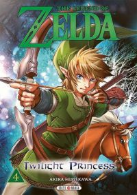 The legend of Zelda - Twilight princess T4, manga chez Soleil de Himekawa